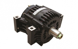 Internal fan alternator cuts weight, boosts output