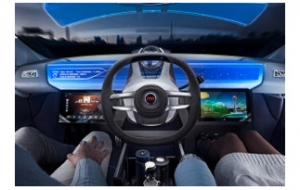 TRW's new steering wheel concept supports automated driving