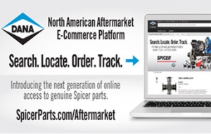 Dana introduces aftermarket e-commerce site connecting technicians with distributors
