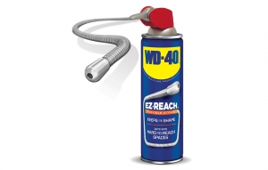 WD-40 EZ-Reach is designed for hard-to-reach spaces