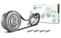 Schaeffler launches repair solution with pulley decoupler from the INA brand