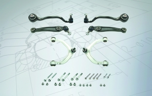 Exclusive MEYLE-HD control arm kits for Mini and BMW