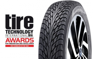 Tire makers honored in Germany